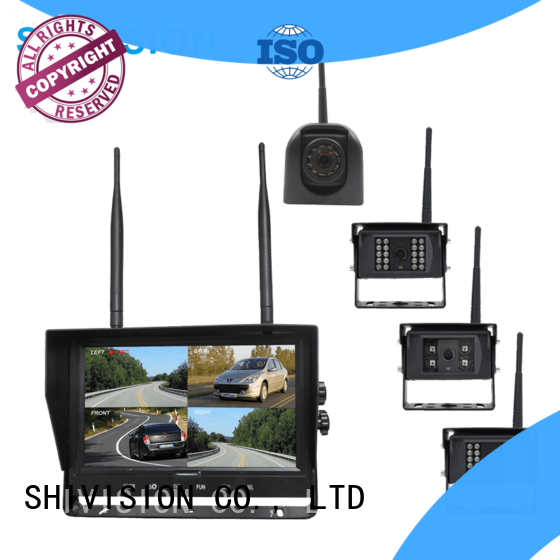 Shivision shivisionm02094chc09158saic1348 quadview hd system factory price for van