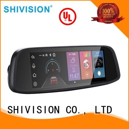 quality back up camera and monitor shivisionm01077 certifications for fire truck