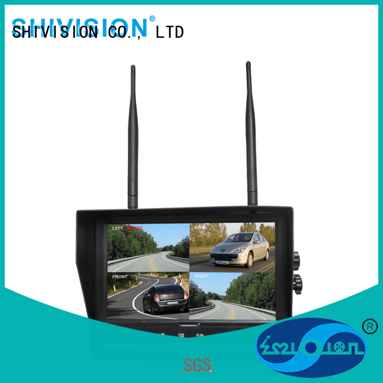 new arrival wireless cctv camera with monitor China manufacturer for car