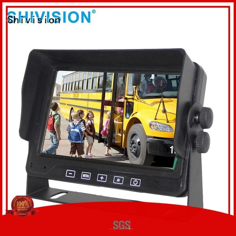 Shivision inch backup camera monitor with certification for trunk