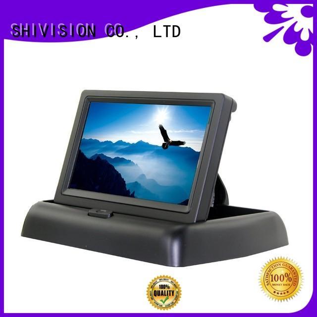 monitor touchcontrol vehicle reverse camera monitor hd Shivision company