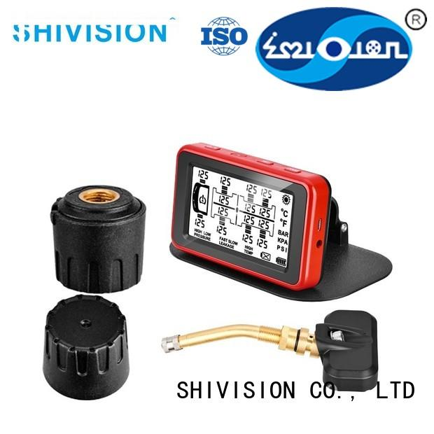 Shivision Brand system detection vehicle tire sensor system TPMS alarm detector supplier