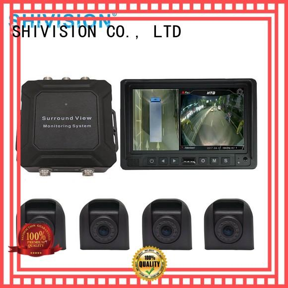 professional monitoring Shivision Brand 360 view vehicle camera system factory