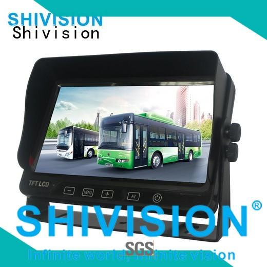 gradely rear view camera monitor shivisionm0396car China manufacturer for tractor