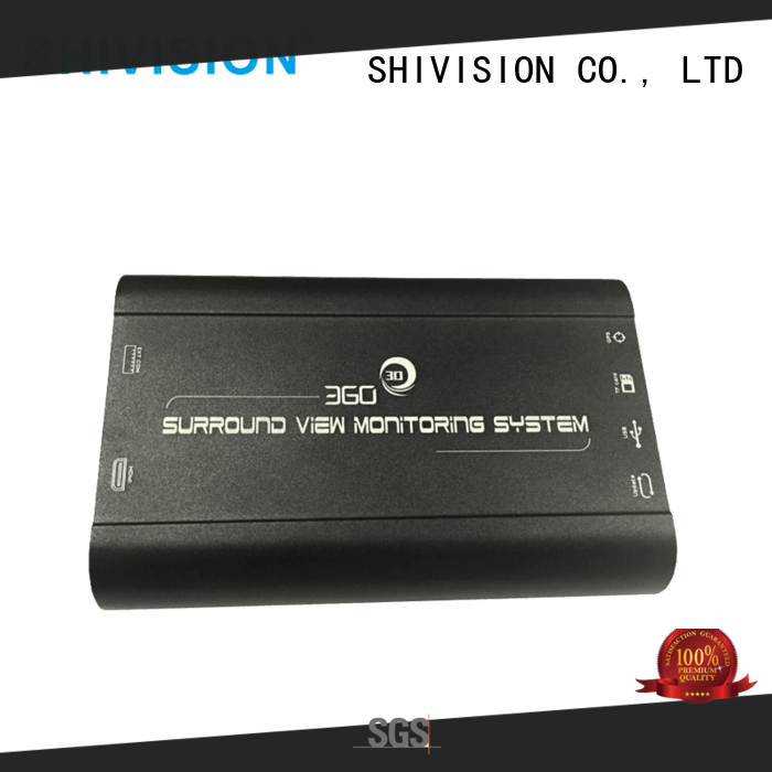 SHIVISION-S04039-HD 3D All around view Monitoring system for Bus