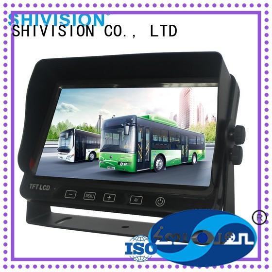 vehicle reverse camera monitor monitor backup rear view monitor system hd Shivision Brand
