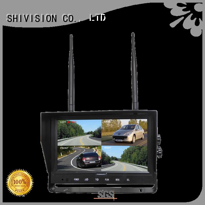 camera and monitor system digital Shivision Brand security camera monitor